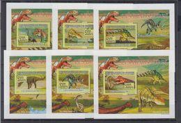 L81. MNH Guinee Nature Animals Prehistoric Dinosaurs - Prehistorics