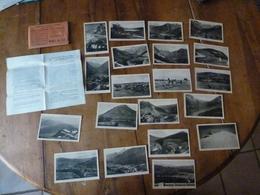 20 CPA ,édition 1930, Pour L'enseignement De La Géographie ---> RELIEF DU SOL - Postcards