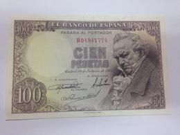 C.R. 100 PESETAS 1946. EBC - 100 Pesetas