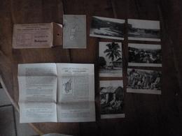 7 CPA ,édition 1930, Pour L'enseignement De La Géographie ---> MADAGASCAR Et Divers - Postcards