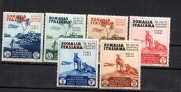 Serie Nº A-1/6 Somalia Italiana - Somalia