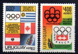 Serie Nº A-395/6  Uruguay - Uruguay