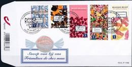 Belgie Belgique  2011 OCBn° FDC 4185-4189 (o) Oblitéré  Used Cote 12,50 Euro  Snoep Friandises - 2001-10
