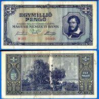Hongrie 1000000 Pengo 1945 1 000 000 1 Million Forint Skrill Paypal Bitcoin OK - Autriche