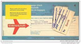 Swissair 1964 - Zurich Copenhagen Dusseldorf Zurich - Tickets