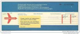 Swissair 1969 - Berne Zurich Warsaw Zurich - Tickets