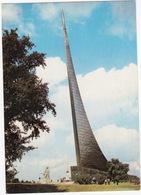 Mockba/Moscow: Obelisk In Memory Of The Launching Of The First Sputnik, 1964 - (Architects; Faidysh,Barshch & Kolchin) - Rusland