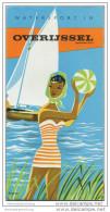 Niederlande - Watersport In Overijssel - Faltblatt Mit 10 Abbildungen - In Holländischer Sprache - Netherlands