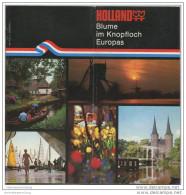 Niederlande - Holland Blume Im Knopfloch 1975 - 20 Seiten Mit Unzähligen Abbildungen - 26 Seiten Allgemeine Auskünfte - Netherlands