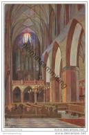 Marienwerder - Dom - Inneres - Künstlerkarte Signiert P. E. Gabel 20er Jahre - Westpreussen