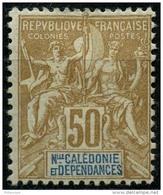 Nouvelle Caledonie (1900) N 64 * (charniere) - Unused Stamps