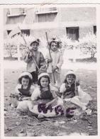 PHOTO ANCIENNE,14,CALVADOS,ARROMANCHES LES BAINS,ENFANT,FETE DE FIN D'ANNEE,DEGUISEMENT - Places