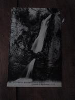 7 CPA ,édition 1930, Pour L'enseignement De La Géographie ---> LE GRAND BORNAND ,cascade La Mystérieuse - Postcards