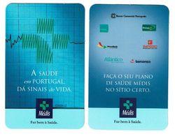 Portugal ,  MEDIS ,  2000 , 2002 ,  Calendar , Calendrier , Insurance , Assurance , Seguros - Small : 2001-...