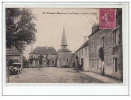 VERNEUIL-MOUTIERS - Place De L'église - état - Autres Communes