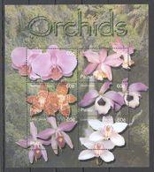 N402 PALAU FLORA FLOWERS ORCHIDS 1KB MNH - Orchidées