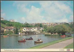The Boating Lake, Newquay, Cornwall, C.1980 - Dennis Postcard - Newquay