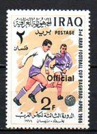 OFFICIAL Opt Football MNH Mi. #344 (i17) - Iraq