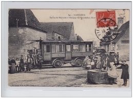 NERONDES - Train Renard Du Cher - Service De Nérondes à Flavigny Les Bourdelins - Très Bon état - Other Municipalities