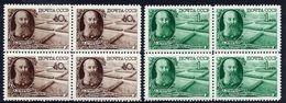SOVIET UNION 1949 Dokuchaev: Soil Association Blocks Of 4 MNH / **. Michel1365-66 - 1923-1991 USSR
