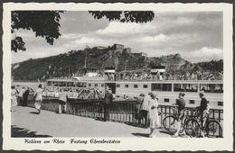 Festung Ehrenbreitstein, Koblenz Am Rhein, Rheinland-Pfalz, C.1950s - Gutmann AK - Koblenz