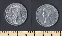 French Somaliland 2 Francs 1959 - Autres – Afrique