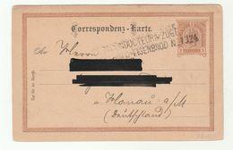 1891 Zelezny Brod POSTCONDUCTEUR ZUGE EISENBROD 1324  Austria POSTAL STATIONERY CARD Cover Stamps Czechoslovakia - 1850-1918 Empire