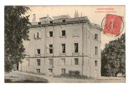 58 Sainte Pereuse Le Chateau De Saulieres - France