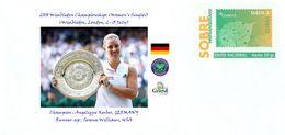2018 Wimbledon Championships (Women's Singles), Champion : Kerber, GERMANY, Runner-up : Williams, USA - Tennis