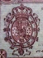 Billete De 1 Peseta. Guerra Civil Española - [ 3] 1936-1975 : Regency Of Franco