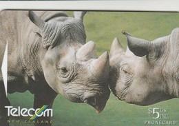 New Zealand - Black Rhinoceros - G-170 - New Zealand