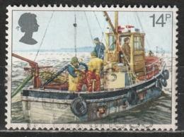 Gran Bretagna 1981 Cockle-dredging - Barche Da Pesca | Navi | Pesca | Vetture - 1952-.... (Elisabetta II)