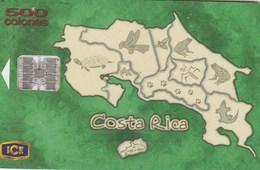 Costa Rica - Mapa De Costa Rica - Animals - Costa Rica