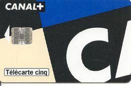 CARTE-PRIVEE-5U-GN 321--04/97-SC7-CANAL+07/1-CARTE G-VERSO A-Utilisé-TBE- - 5 Einheiten