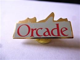 PINS ORCADE LOGO / Base Dorée / 33NAT - Trademarks