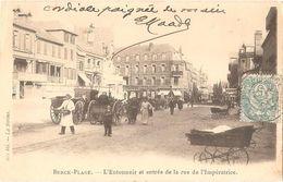Dépt 62 - BERCK-PLAGE - L'Entonnoir Et Entrée De La Rue De L'Impératrice - (Hôtel De L'Univers) - Berck