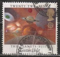Gran Bretagna 1985 Gustav Holst - The Planets Suite - C.E.P.T. / Europa | Compositori | Musica | Pianeti | Servizi Posta - 1952-.... (Elizabeth II)