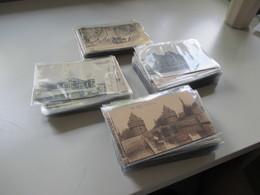 Belgien 1900 - 30er Jahre 240 AK Viele Schöne Motive! Etliches Ungelaufen Aber Auch Gelaufen! Viel Brüssel! - 100 - 499 Karten