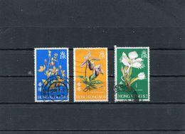 HONG KONG 1977 MI 341/343 CTO - Hong Kong (...-1997)