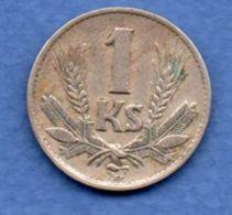 Slovaquie  -  1 Koruna 1940 --  Km # 6 --  état  TTB - Slovaquie