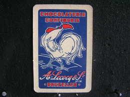 Playing Cards /Carte A Jouer/1 Dos De Cartes,Inscription  Publicitaire/Chocolaterie Confiserie, A.Lecocq & S - Bruxelles - Cartes à Jouer