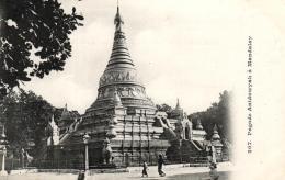 B 6979 - Messageries  Maritimes   Birmanie      Pagode Anidowyah à Mandalay - Postcards