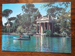 L6/69 Italie. Villa Borghese. Le Petit Lac - Parks & Gardens