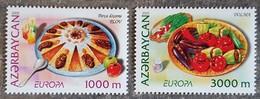 Azerbaïdjan - YT N°523, 524 - EUROPA / La Gastronomie - 2005 - Neufs - Azerbaïdjan