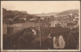 General View, Perranporth, Cornwall, 1938 - Photochrom Postcard - England