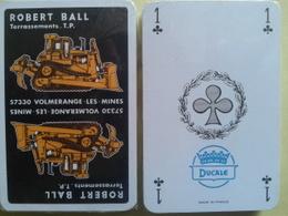 Robert Ball. Terrassement 57330 Volmerange Les Mines. Jeu Neuf De 32 Cartes Sous Blister - Playing Cards (classic)