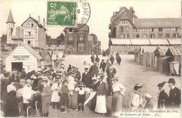 Dépt 62 - LE TOUQUET-PARIS-PLAGE - Distribution Des Prix Du Concours De Sable (cliché Différent) - LL N° 105 - Le Touquet