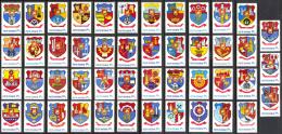 Romania Sc# 2869-2915 MNH 1979 Arms - 1948-.... Républiques