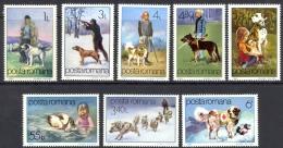 Romania Sc# 3060-3067 MNH 1982 Dogs - 1948-.... Républiques