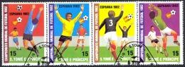 St. Thomas Sc# 647 Used 1982 World Cup - Sao Tome And Principe